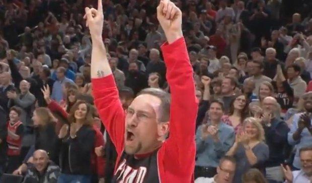 Вдалий кидок вболівальника очолив топ-5 моментів дня в НБА