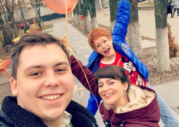 Олена-Крістіна Лебідь з колегами, фото з Instagram