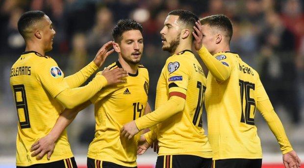 Відбір ЄВРО-2020: Збірна Бельгії стерла в порошок росіян