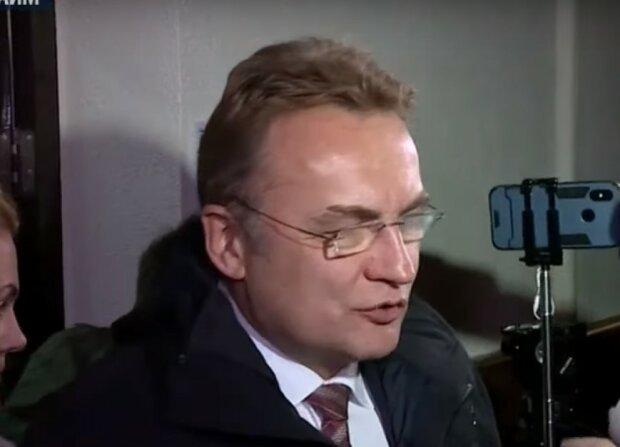Андрій Садовий, скріншот з відео