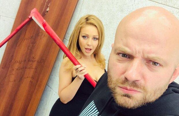 Тина Кароль и Слава Демин, фото с Instagram