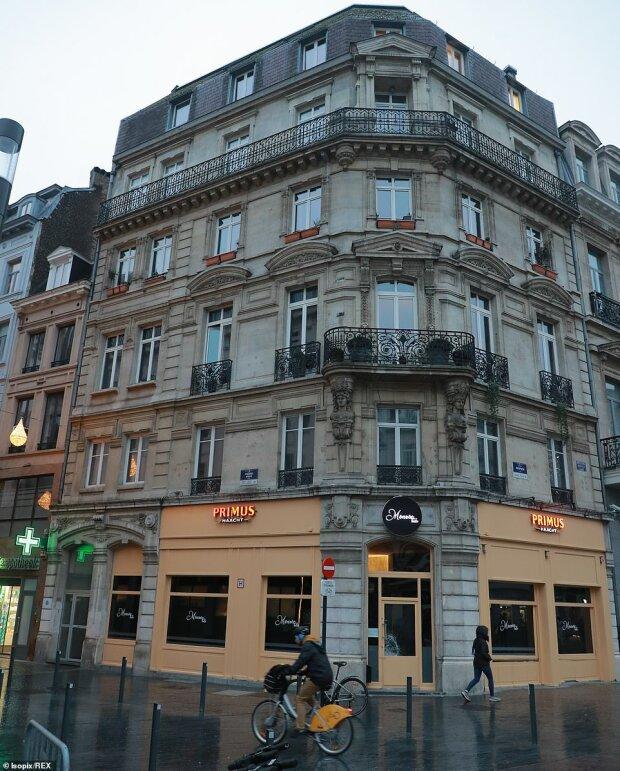 в квартале исторического центра Брюсселя, известного своими гей-барами, фото The Daily Mail