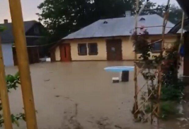 """На Буковине адский поток снёс село за считанные секунды, водный Апокалипсис попал на видео - """"Жесть!"""""""