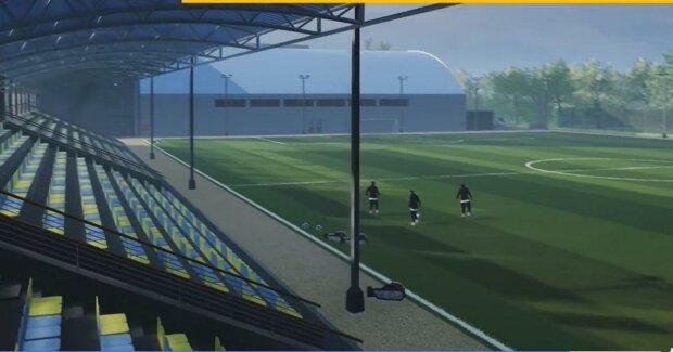 Стадіон / скріншот з відео