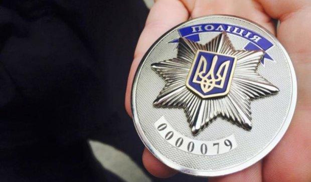 Київським поліцейським вручили офіцерські значки (фото)
