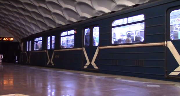метро Харькова, скрин из видео