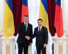 Владимир Зеленский и Андрей Бабиш, фото: Офис президента