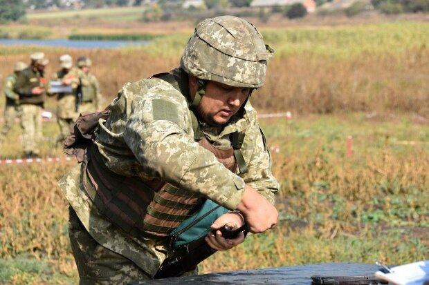 Украинский военный, фото Facebook