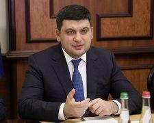 Володимир Гройсман, прем'єр-міністр України