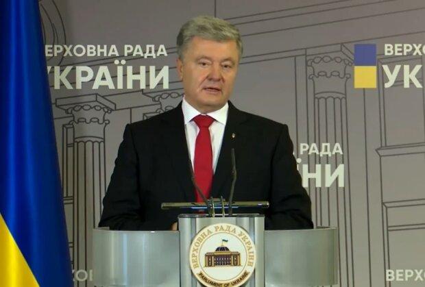Петр Порошенко, скриншот с видео