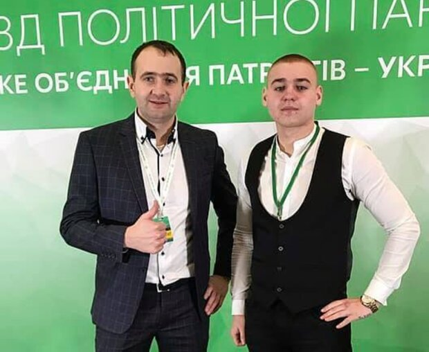 Сергій Феденішин (праворуч), Facebook