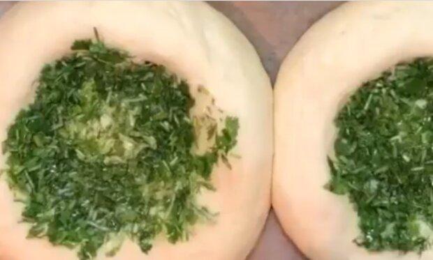 Хлеб с зеленью, instagram.com/cooks.ecstasyy