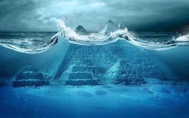 Подводная цивилизация не дает покоя ученым