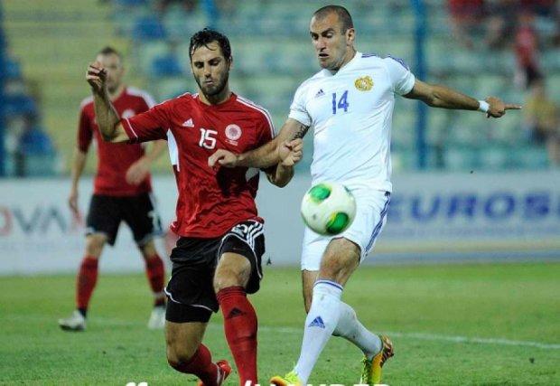 Армения проиграла албанцам матч за два миллиона евро