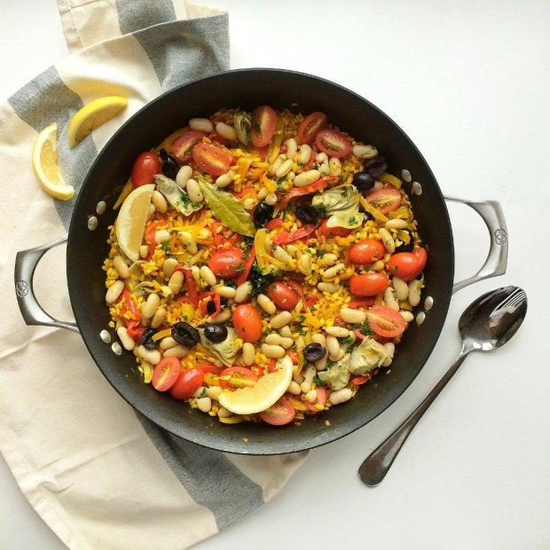 Іспанська кухня: рецепт овочевої паельї
