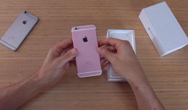 Китайська компанія випустила iPhone 6s раніше за Apple (відео)