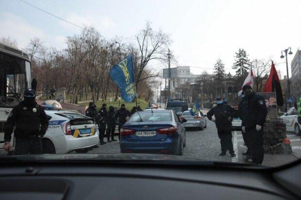 Акція протесту, фото Нацкорпус