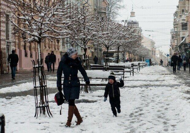 Зима візьме тайм-аут у Львові, сміливо роздягайтеся 13 лютого