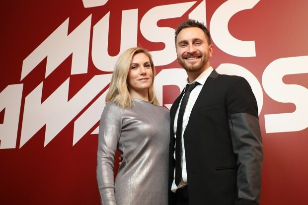 Олег Собчук з дружиною