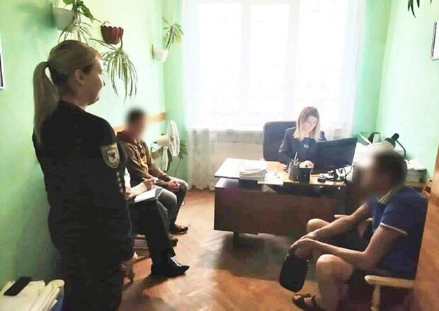 Задержание. Фото: Полиция Ивано-Франковской области.