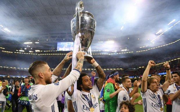 Ювентус - Реал: Відео нагородження переможця Ліги чемпіонів