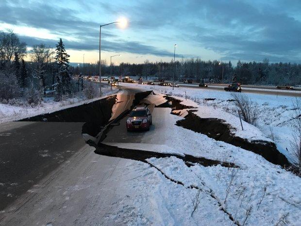 землетрус на Алясці