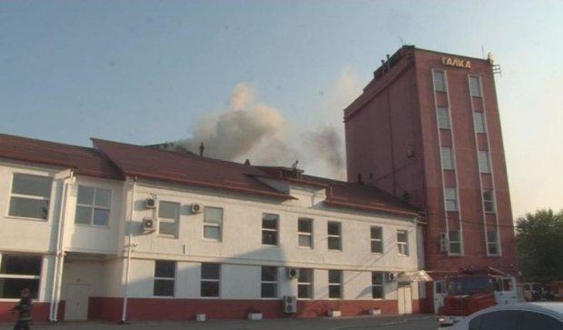 Середнє обсмажування: у Львові згоріла фабрика кави