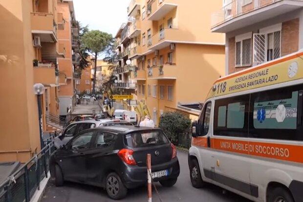 Коронавірус в Італії, скріншот: YouTube