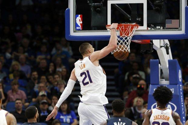Украинец Лэнь выдал фееричный матч в НБА: видео