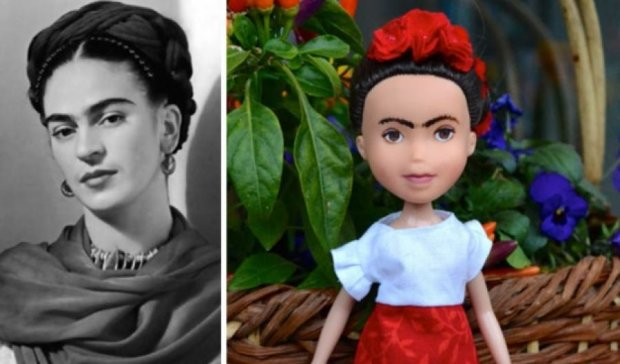 Художниця зробила Фріду Кало і Джоан Роулінг в стилі ляльки Bratz (фото)