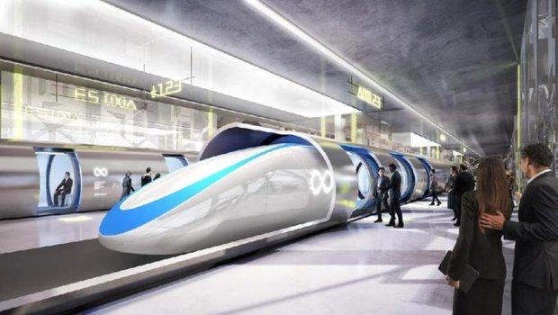 Hyperloop - транспорт пятого поколения