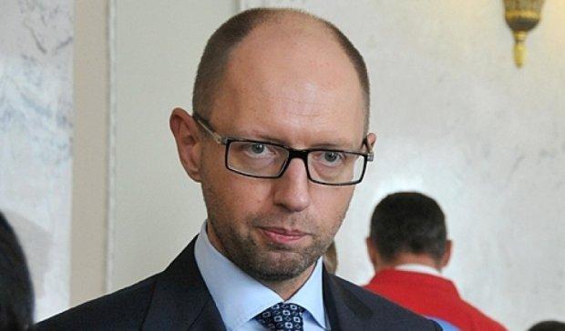 Яценюк пожелал РФ успеха в уничтожении продуктов из ЕС