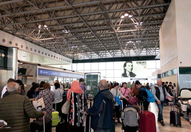 В аеропорту, фото Яндекс.дзен