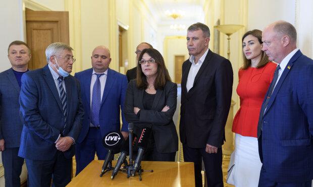"""Депутати від фракції """"Опозиційна платформа - За життя"""""""