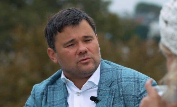 Андрій Богдан, скріншот з відео