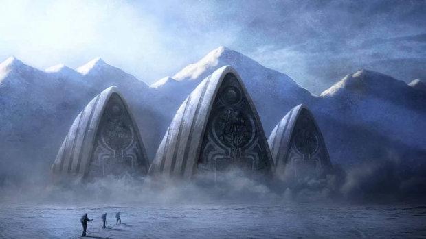 Исследователи наткнулись на останки короля Антарктиды
