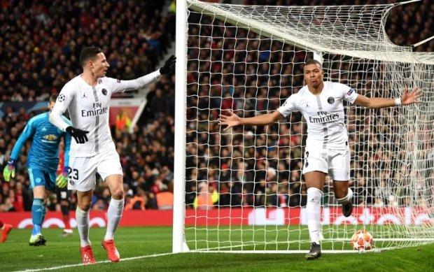 ПСЖ переміг Манчестер Юнайтед, Сульшер зазнав першої поразки