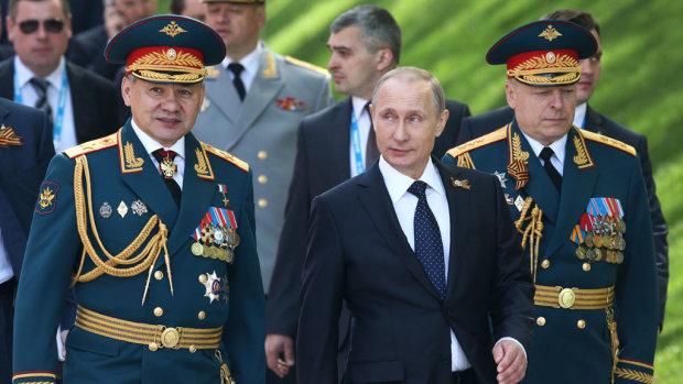 Путін та Шойгу