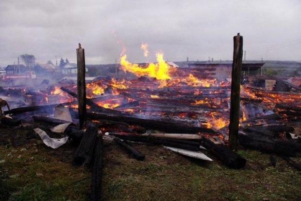 В Тернопольской области сгорел храм