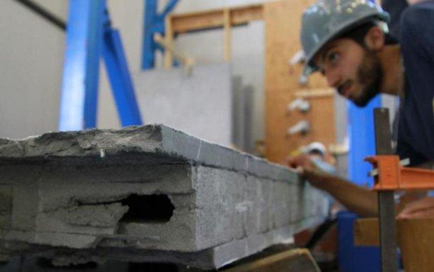 Інноваційний бетон витримає найпотужніші землетруси