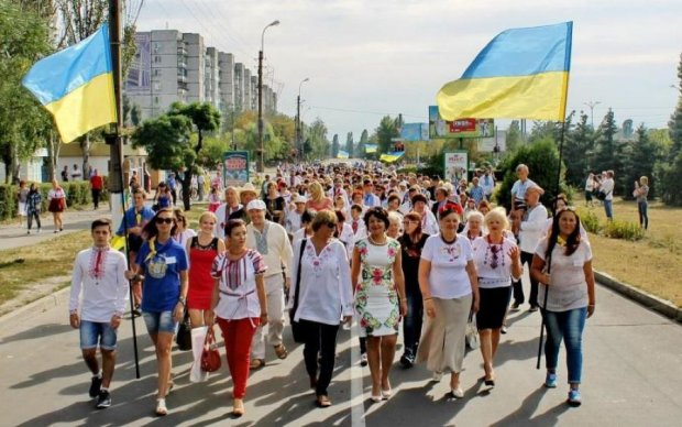 Праздничный телемост: журналисты приготовили украинцам грандиозный подарок