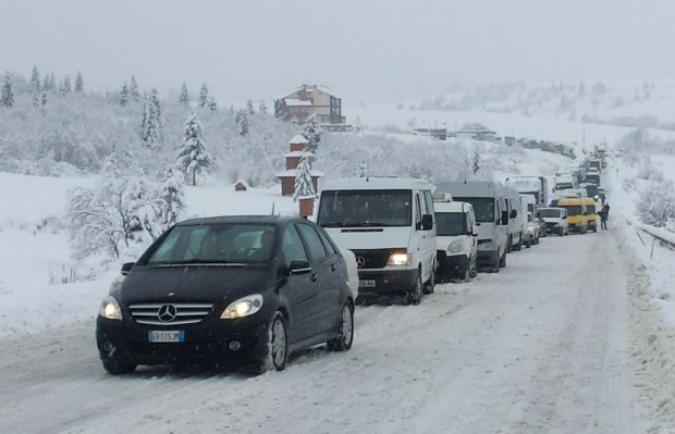 Трассу Киев-Чоп закроют