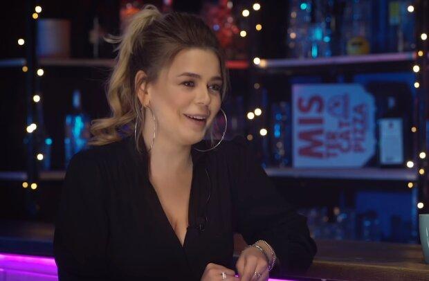 Алина Гросу, скрин из видео