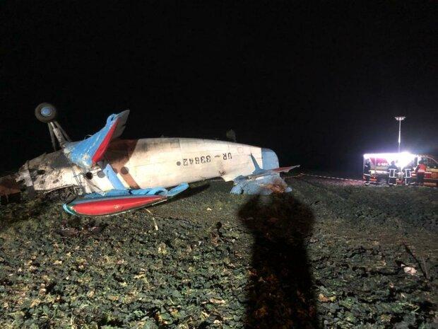 Під Тернополем впав літак, фото: Національна поліція