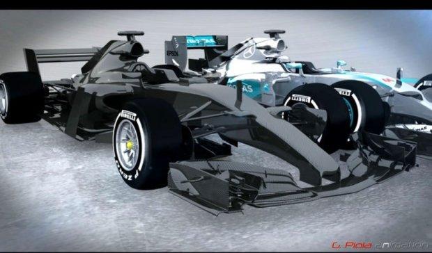 Як виглядатиме болід Формули-1 через два роки (фото)