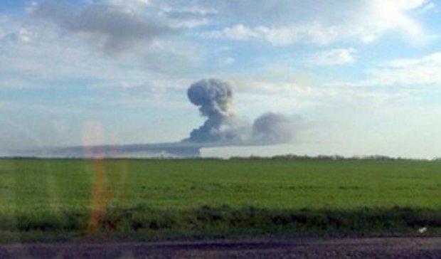 Під Ростовом горить полігон, людей евакуюють (фото, відео)