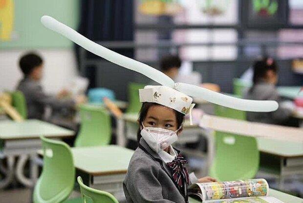 Школярі у Китаї, фото: instagram.com/scmpnews