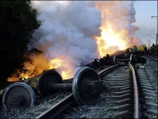 Біля Волновахи та Попасної підірвали залізничні  колії