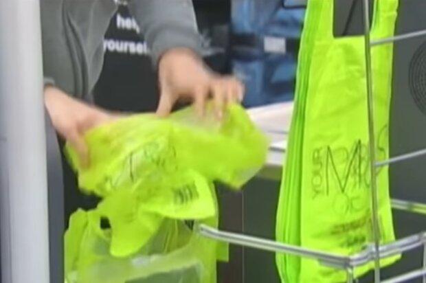 Полиэтиленовые пакеты, фото: кадр из видео
