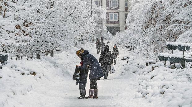 Морозная зима, иллюстративное фото из свободных источников